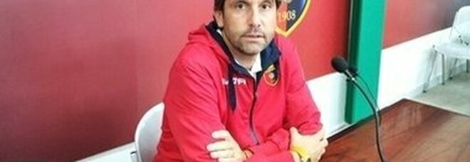 Il tecnico della Casertana Federico Guidi
