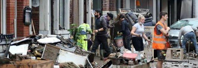 Inondazioni in Belgio, bilancio sale a 20 morti e 20 dispersi: per il premier De Croo sono state «le più catastrofiche di sempre»