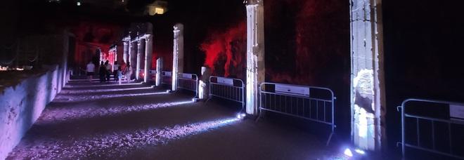 Parco archeologico di Ercolano, ripresa da tutto esaurito anche su Fb