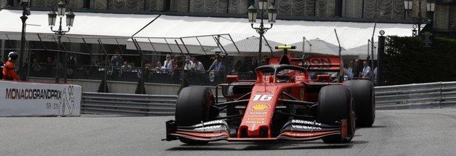 Gp Montecarlo, Leclerc primo dopo le libere ma è sotto inchiesta