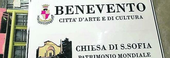 «Benevento città d'arte e cultura», nuova segnaletica turistica