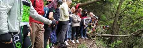 Ciclista morto, le sue ceneri sparse sul Vesuvio: «Così vivrà per sempre»