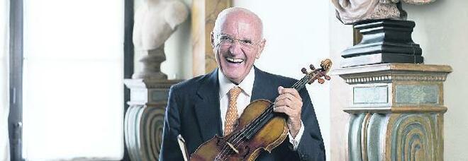 Salvatore Accardo, 80 anni: «Il primo violino a tre anni, avevo il futuro tra le mani»