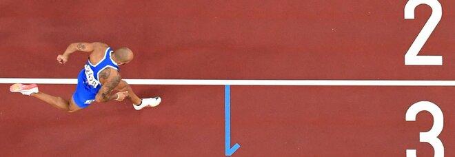 Jacobs oro, i 100 metri ai raggi X: velocità massima 43,3 km/h, la svolta agli 80 metri