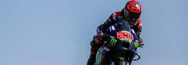 Moto Gp, Quartararo conquista la pole position. Bagnaia furioso per la retrocessione