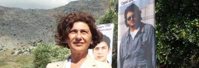 Capaci, la vedova Tina Montinaro: «Ancora piangiamo i morti senza conoscere tutta la verità»