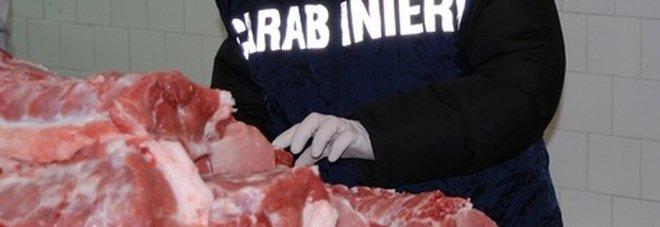 Roma, carne senza tracciabilità: sequestrati 86 quintali, valore di 200mila euro
