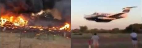 Si schianta con l'aereo per uccidere la moglie: il video del pilota suicida