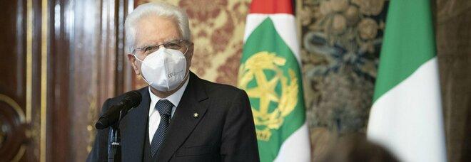 Covid, Mattarella: «Servono responsabilità e orgoglio per evitare di tornare nelle condizioni di marzo-aprile»