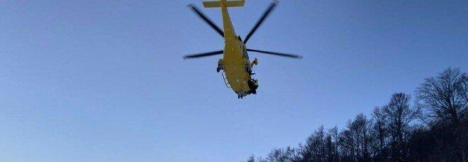 Alpinista salvato nel Cuneese, era rimasto appeso a una roccia per otto ore