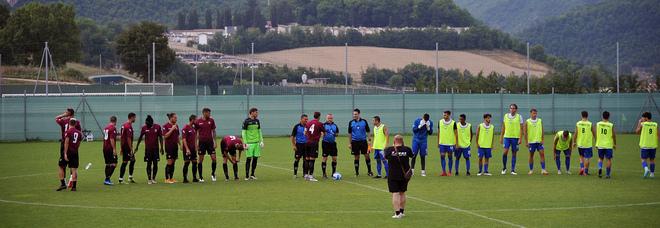 Salernitana, un gol per tempo Palermo battuto in amichevole