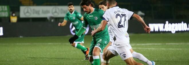 L'Avellino conquista il derby contro la Cavese: 1-0 grazie ad Adamo