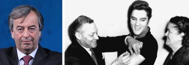 Covid, Burioni: «Criticate Conte per Fedez? Nel 1956 l'America si salvò con il vaccino di Elvis in diretta tv»