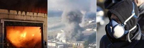 Roma, a fuoco il centro rifiuti Salario: rischio nube tossica e caos raccolta