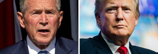 Usa, Trump umilia Bush: «Nessuna lezioncina su terrorismo e guerra»