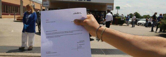 Jabil, nuova mission: farà assemblaggi, nodo esuberi all'azienda di Marcianise