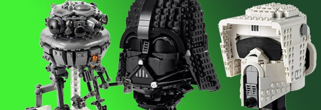 I modelli Lego Star Wars