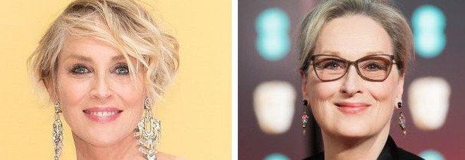 Sharon Stone contro Meryl Streep: «Io più brava di lei, è sopravvalutata»