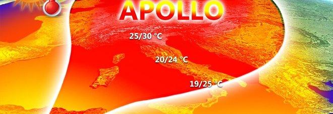 Meteo, Apollo porta il caldo: 10 giorni di sole, «temperature +5-6°» fino al primo maggio