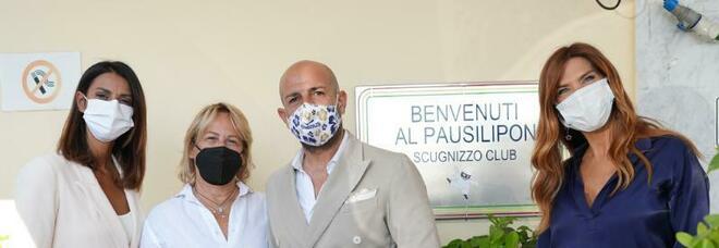 Veronica Maya, Patrizia Pellegrino ed altri per il Sea Charity Gala al Club Partenopeo