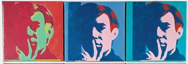 Londra, il primo autoritratto di Andy Warhol in vendita a 7 milioni di sterline