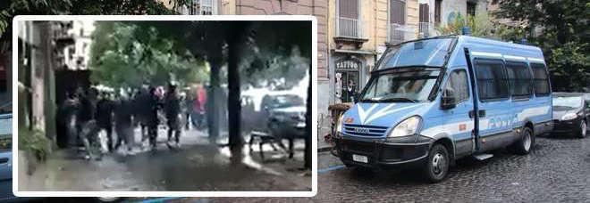Napoli, scontri nella sede di Casapound: esplode bomba carta, un ferito