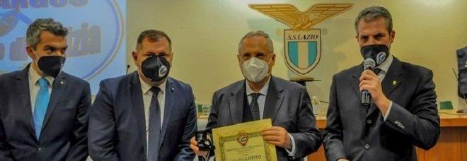 Lazio-Parma, premio ambasciatori del Fair Play all'associazione Argos
