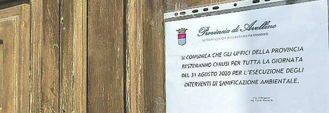 Covid ad Avellino, contagio in famiglia: infetti moglie e figli del dipendente Provincia