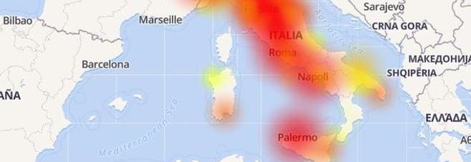 Vodafone down in tutta Italia su rete fissa e mobile
