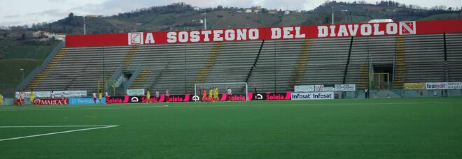 Lo stadio Bonolis