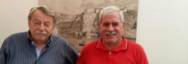 Gabriele Visco (a sinistra) e Umberto Celentano