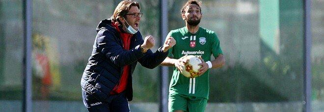 Casertana, derby con cinque assenti e Guidi: «La Juve Stabia è in forma»