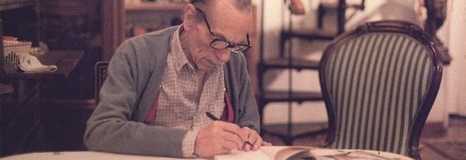 Eduardo De Filippo, spunta la lettera inedita: «Grazie cara maestra, mia o di Peppino»
