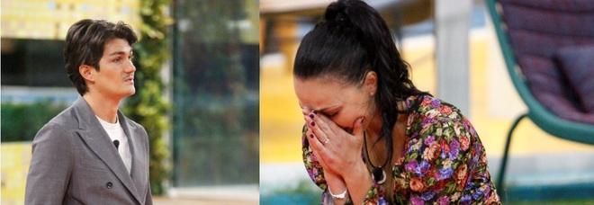 GF Vip, Rosalinda chiede al fidanzato un gesto concreto: Giuliano le regala le chiavi di casa ma lei lo gela: «Mi serve tempo»