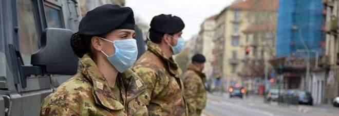 Coronavirus in Campania, è task force: in arrivo 100 militari per i controlli