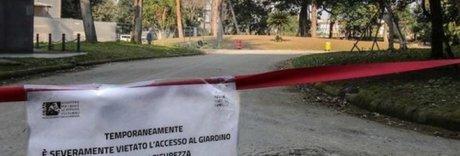 Choc ai giardini Palazzo Reale: bimbo cade e si rompe le braccia