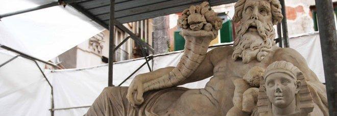 «Corpo di Napoli», restauro completato: sabato prossimo l'inaugurazione