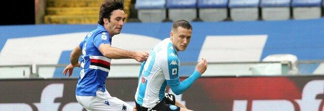 Napoli-Inter, è Zielinski trequartista l'unico grande dubbio di Gattuso