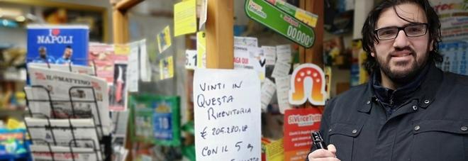 La dea bendata bacia Gragnano: 5 da 205mila euro al Superenalotto