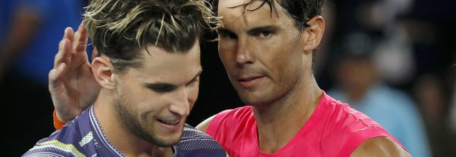 Nadal eliminato agli Australian Open: Thiem lo batte in 4 set (4h14') e vola in semifinale