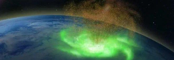 Polo Nord, osservato nella stratosfera il primo uragano spaziale