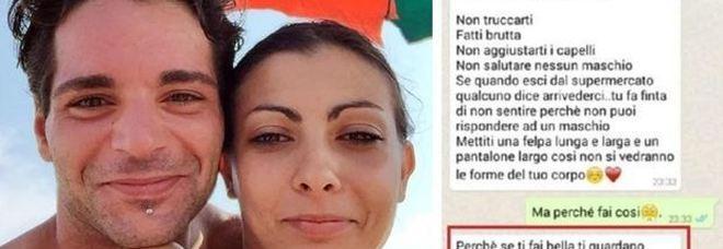 Giulia strangolata e uccisa, su Whatsapp la follia del marito. «Non truccarti, fatti brutta oppure...»