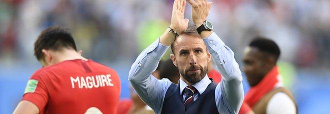 Il ct dell'Inghilterra Gareth Southgate