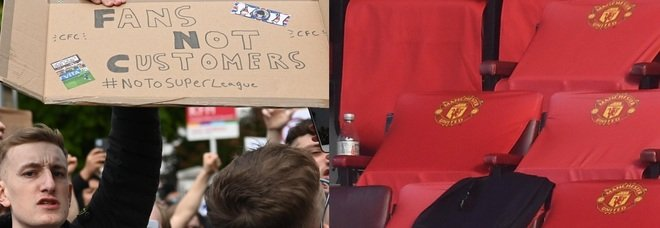 Effetto Superlega, i tifosi del Manchester United protestano ancora: «Via Glazer»
