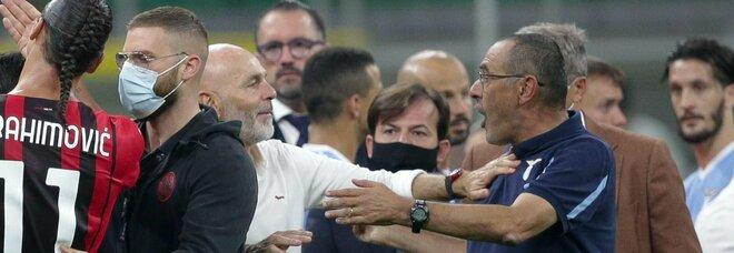 Sarri, due giornate di squalifica dopo Milan-Lazio: ecco perché