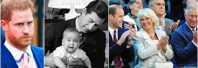 Harry escluso dalle foto per il compleanno di William: la punizione del principe Carlo al figlio