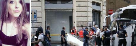 Choc a Roma, muore a 22 anni travolta da pullman in corso Vittorio