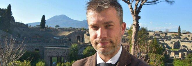 Pompei, primo giorno ufficiale per il neo direttore Zuchtriegel