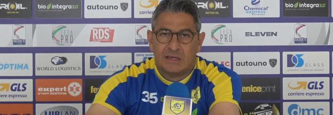 Play-off Juve Stabia, Palermo al Menti; Padalino: «Fare tesoro del derby»