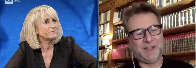 """Che Tempo che Fa, Luciana Littizzetto al posto di Fabio Fazio: il conduttore in """"smart working"""" dopo l'operazione"""